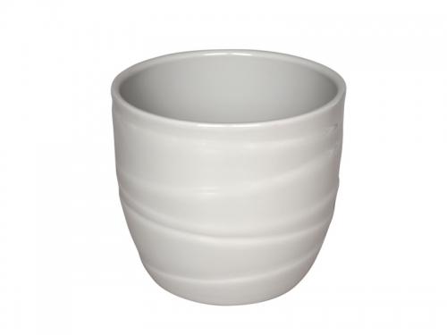 Vas ceramica rotund color | Petal Flowers