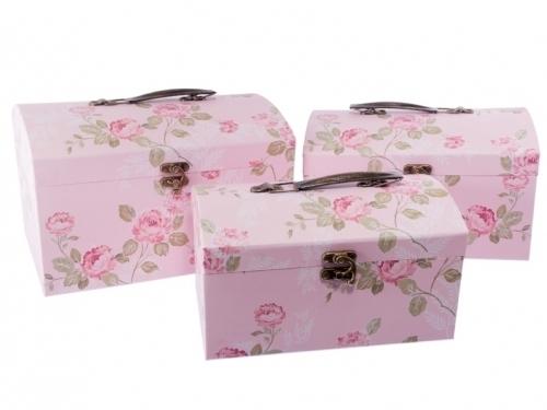 Set 3 cutii cufar | Petal Flowers